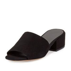Vince Rachelle Mule Slide Black size 8